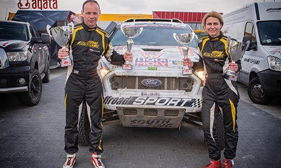 Ford Ranger Dakar týmu South Racing CE vítězí i v Polsku!