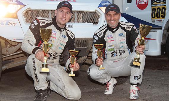 Čtyři dílčí vítězství a pódium pro tým South Racing CE na RiverSide Baja