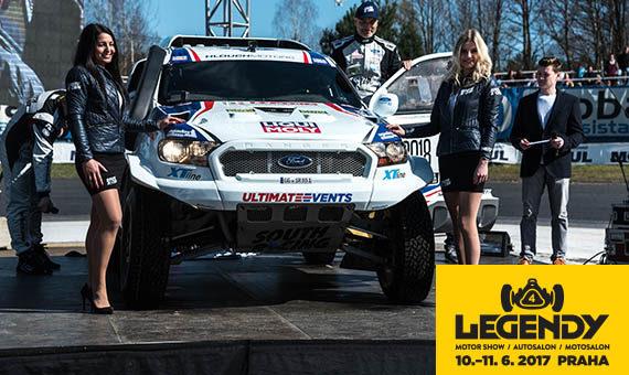 Zažij výjimečný zvuk osmiválce Fordu Ranger Dakar na Legendách!
