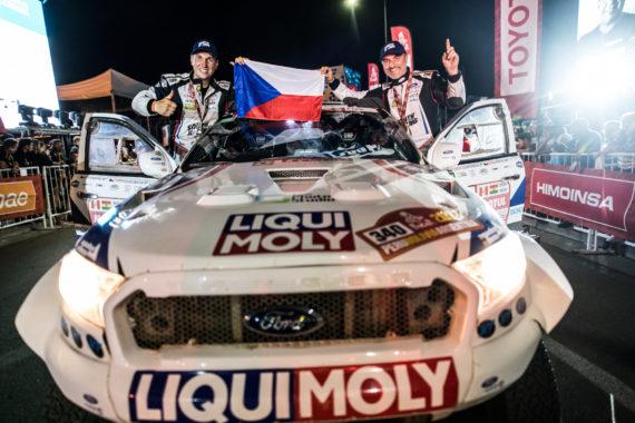 Češi na Rallye Dakar 2019 spojí síly!
